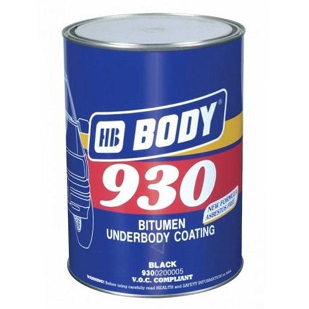 Антикоррозийная и антигравийная смесь 930 на основе каучука, BODY, STOGRUP, СТОГРУП