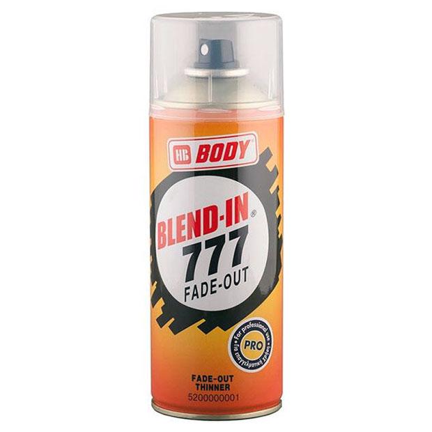Аэрозольный растворитель 777 BLEND-IN для переходов, прозрачный, BODY, STOGRUP, СТОГРУП