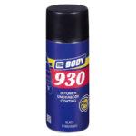 Аэрозольная мастика антигравий 930, чёрная, 0,4 л BODY, STOGRUP, СТОГРУП