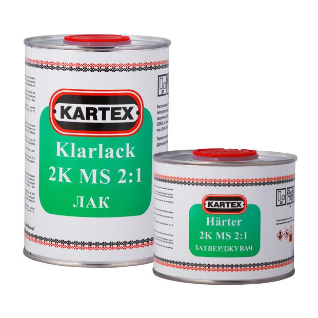 Лак Klarlack 2K MS 2:1, отвердитель Härter 2К MS, KARTEX, STOGRUP, СТОГРУП